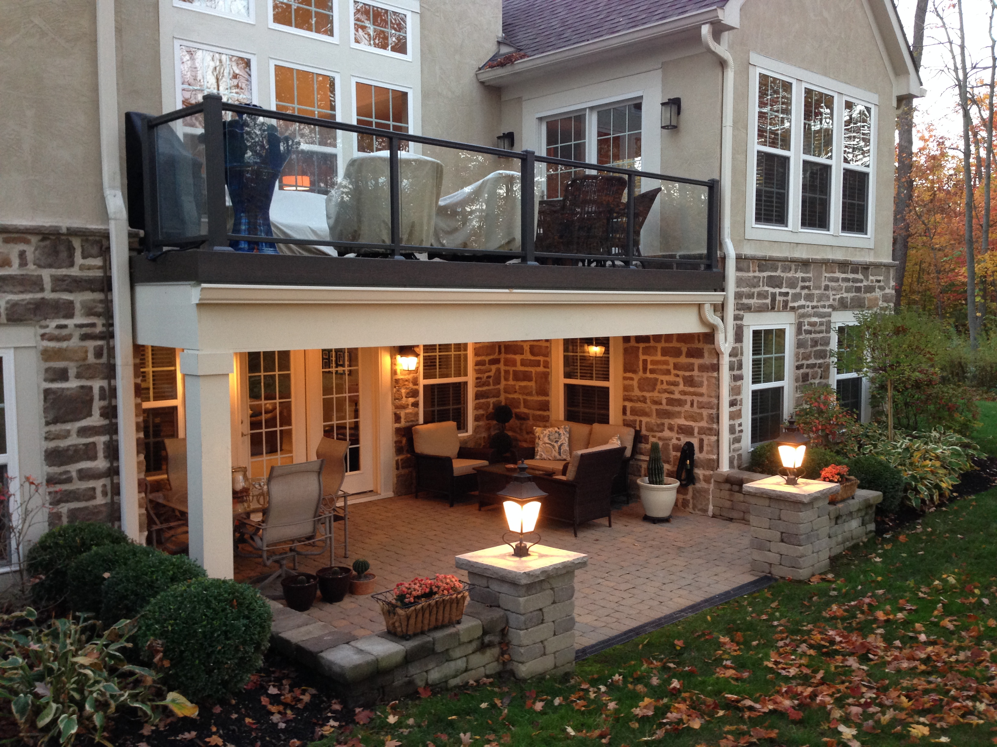 Ultimate columbus outdoor living spaces archadeck - Covered outdoor living spaces ...