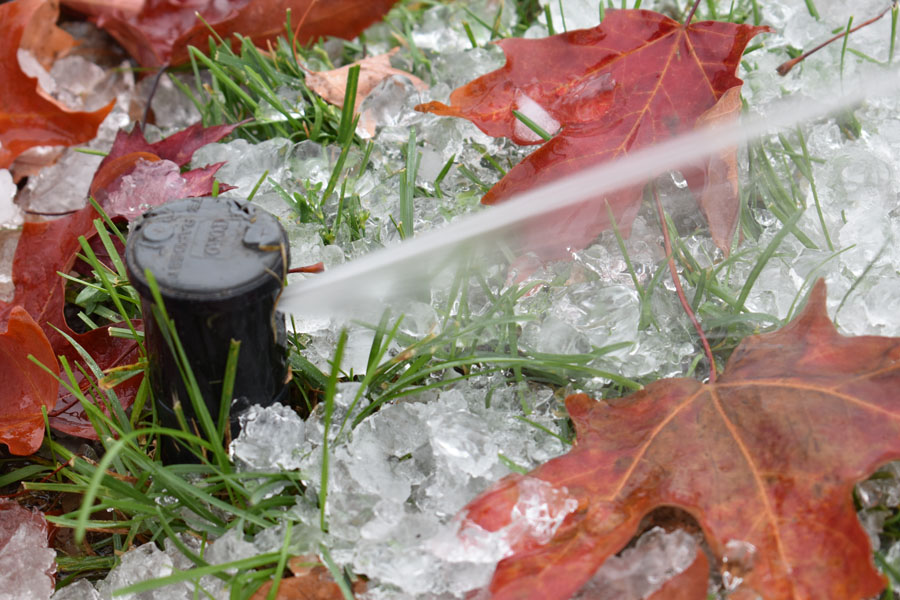 The Woodlands Winter Irrigation service