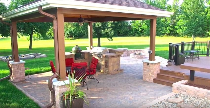2013 Dream Backyard Makeover - Archadeck of Central Iowa - Deck Porch Patio - Christening Party Thumbnail