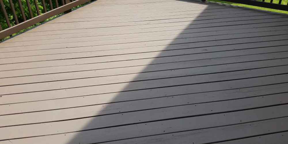 deck cleaning in Charlotte NC