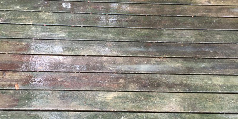 deck discoloration Mooresville NC