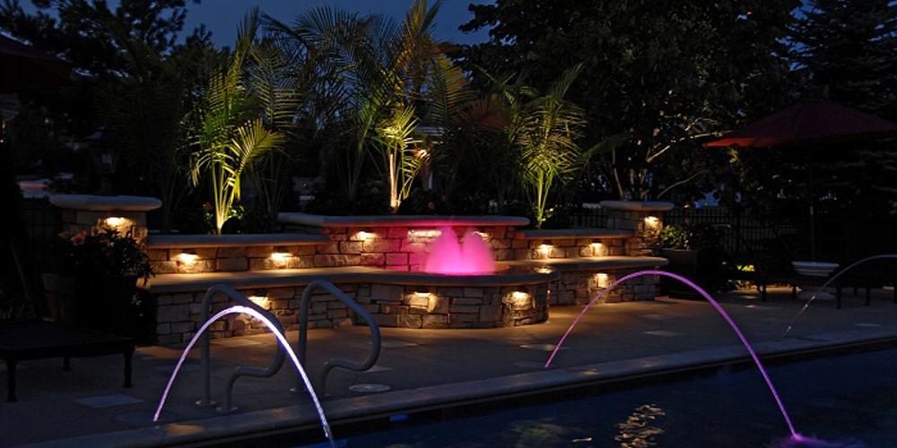 pool area lighting company Kiawah Island