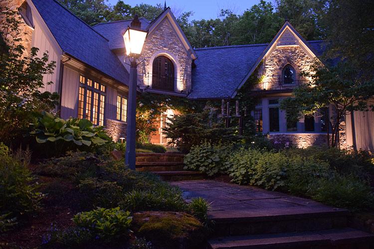 landscape lighting Aurora Ohio