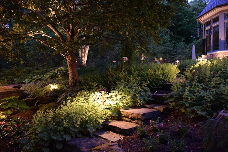 path lighting Aurora Ohio