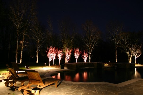 outdoor lighting design in Memphis Tennessee