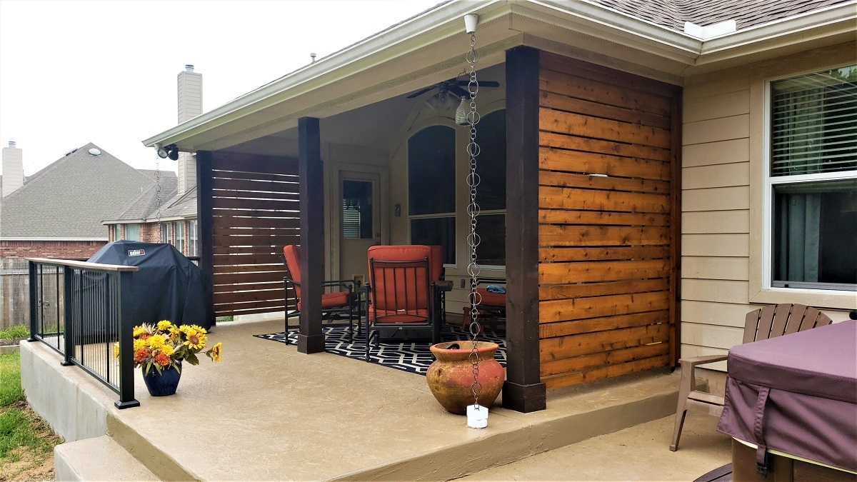 Extend My Patio And Add A Privacy Screen Or 3 Please Archadeck Outdoor Living