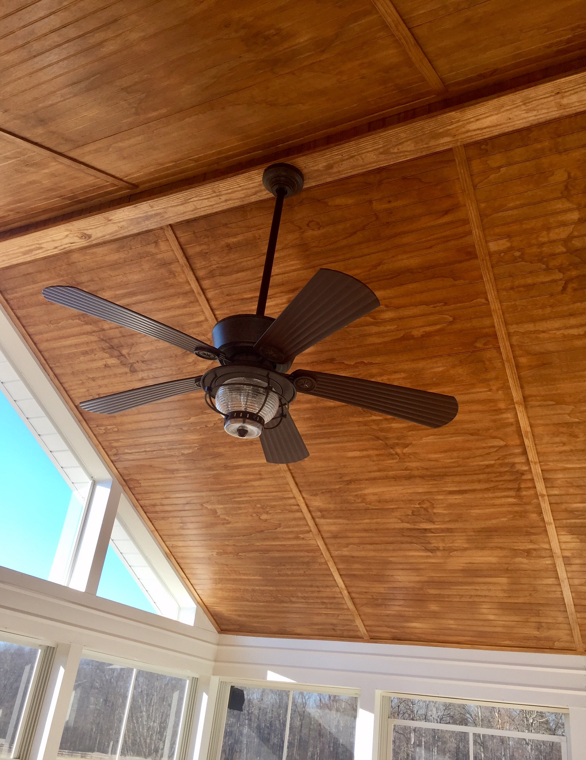 bead board screened porch ceiling