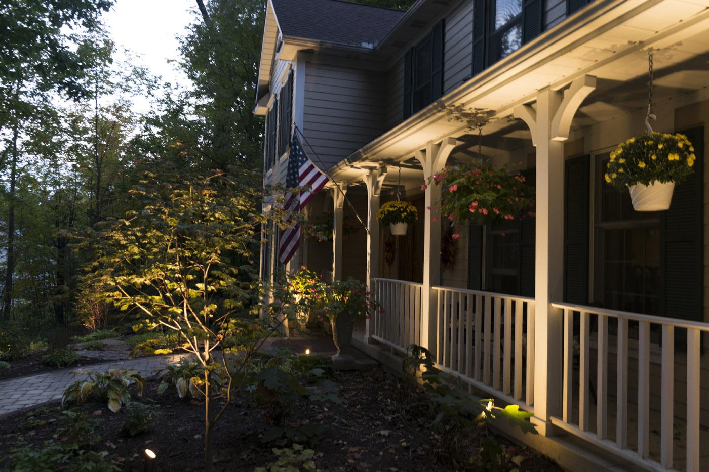 Wilmington porch lights