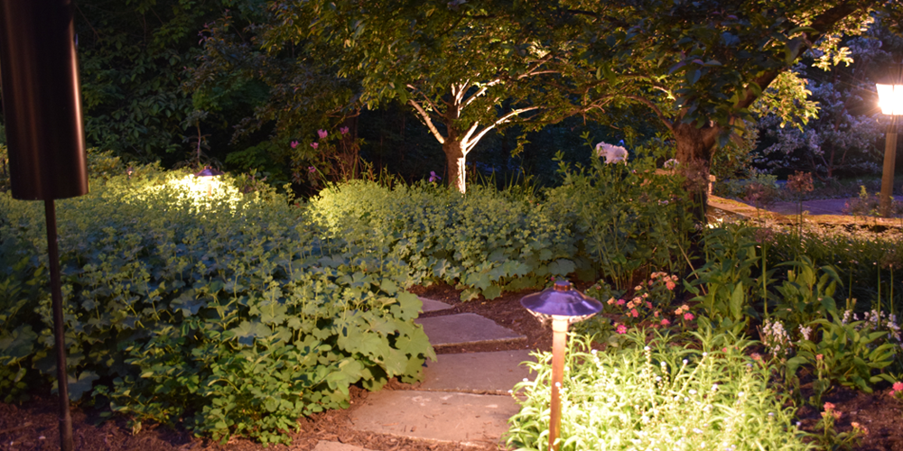 outdoor lighting in Cleveland Ohio