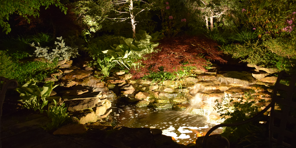 landscape lighting Cleveland Ohio