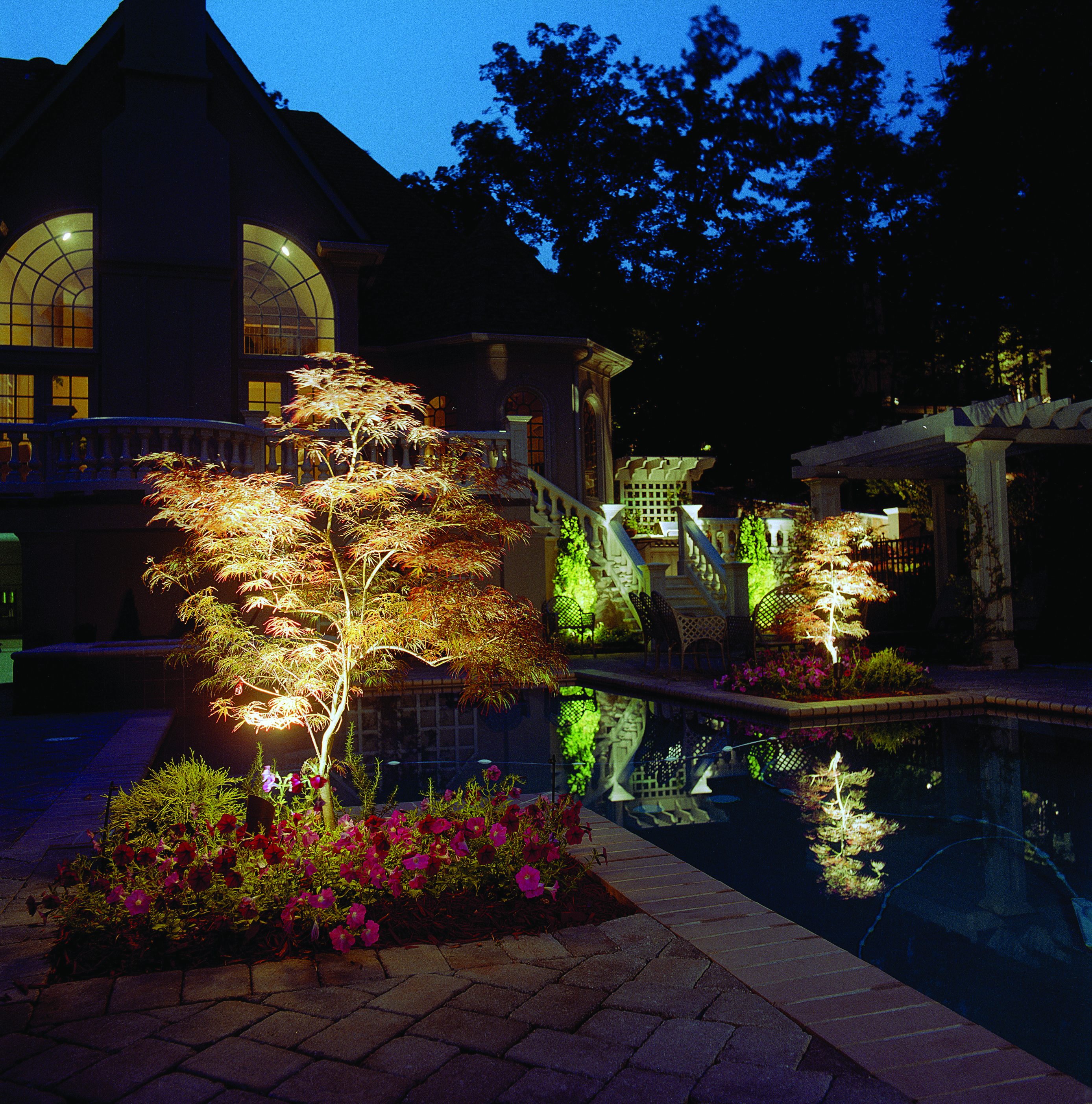 pool area lighting in Germantown TN