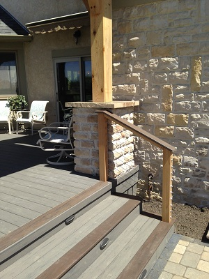 Custom-TimberTech-deck-and-stair-detail-in-Dublin-OH