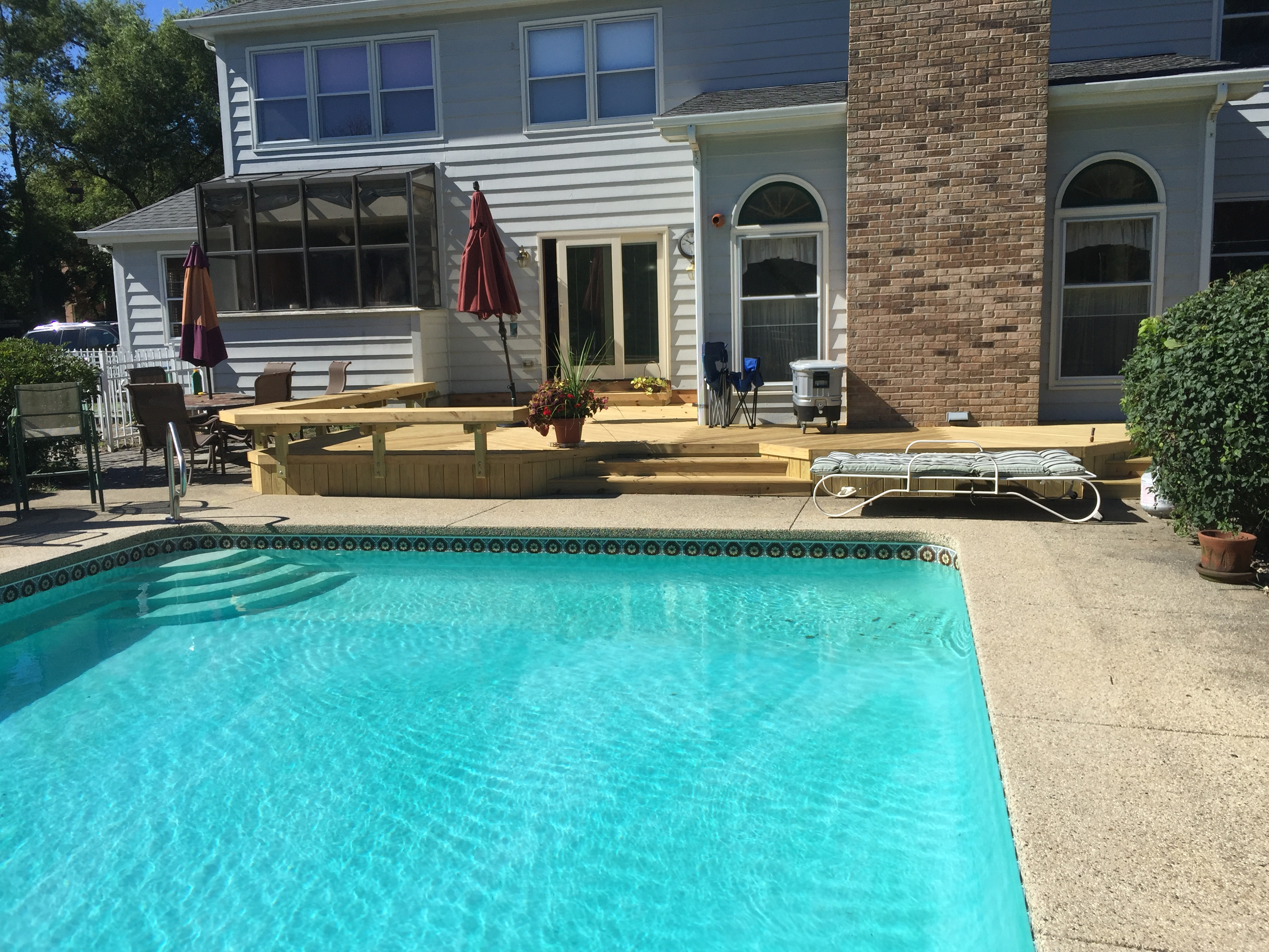 Barrington Pool Deck Builder