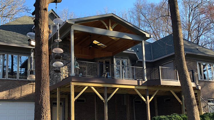 Watch this Summerfield NC Deck Come to Life Thumbnail