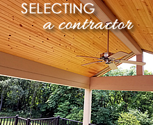 Selecting a Porch & Deck Builder