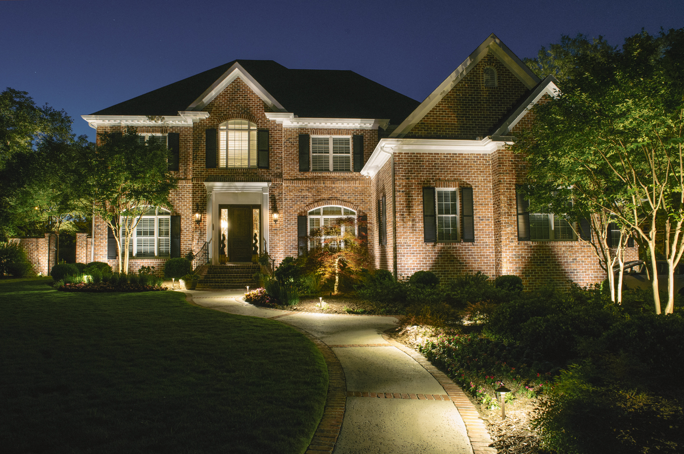 lighting for homes. Architectural Lighting Highlights Your Home\u0027s Exterior And Brings Out Its Unique Textures Details. Placed Around Entryways Arches, Columns Peaks For Homes