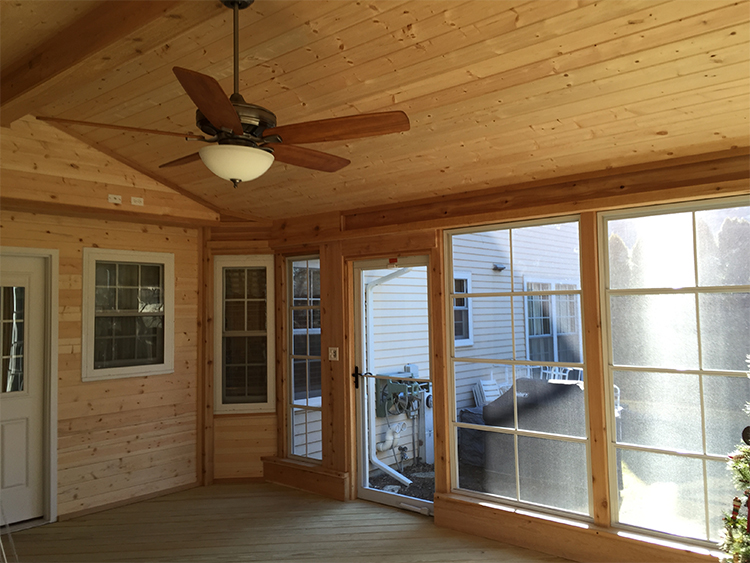 Naperville screened porch builder