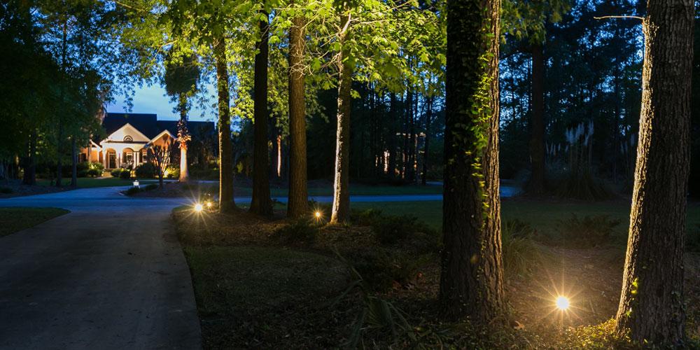 driveway lighting Mount Pleasant SC