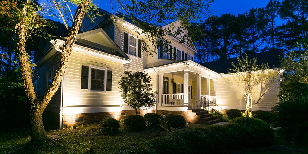 exterior home lighting Mount Pleasant SC