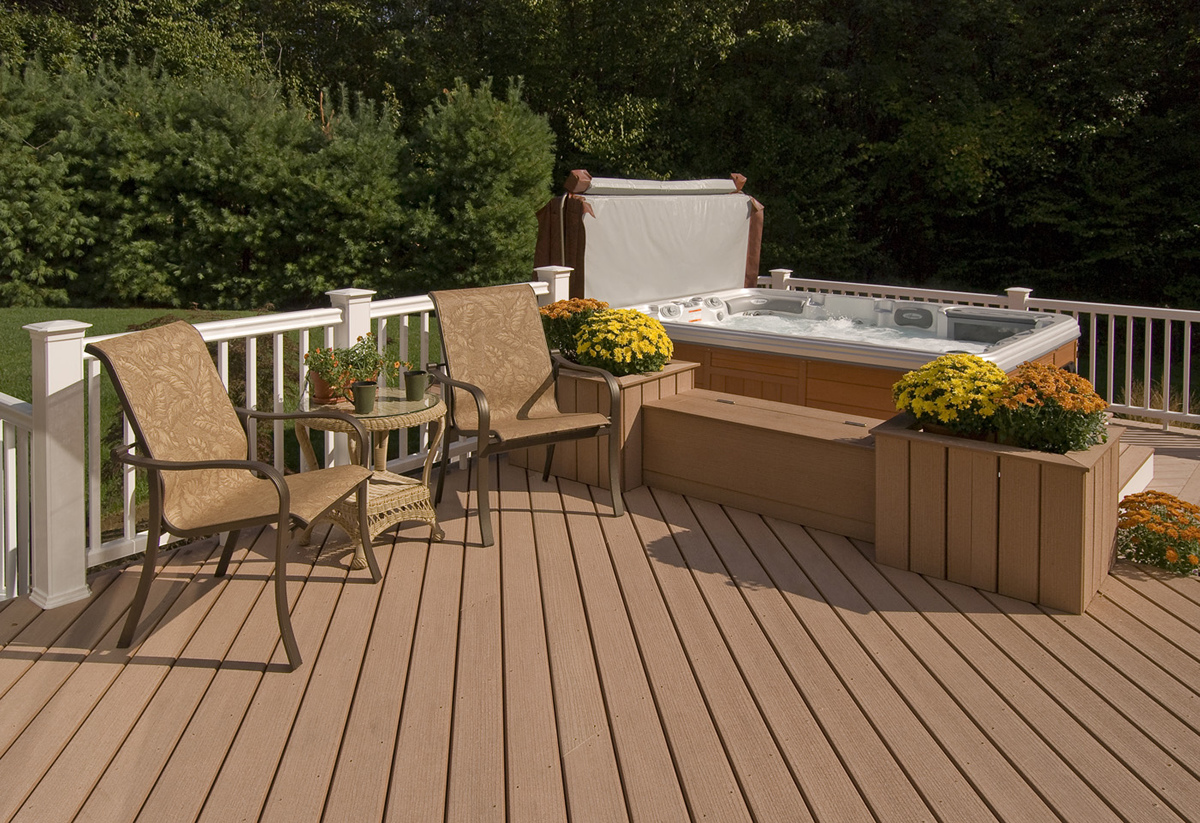 synthetic deck cleaning