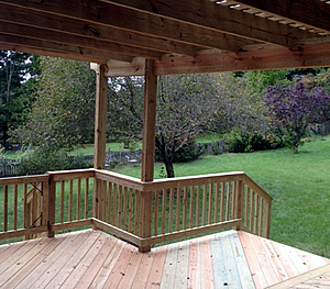 build your Greensboro deck in the fall