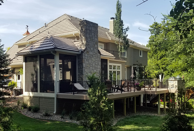 Overland Park screened porch design