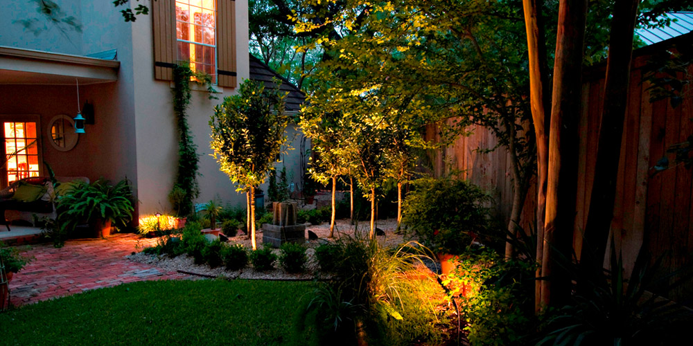 If your landscaper offers to install landscape lighting for you decline this offer you need an outdoor