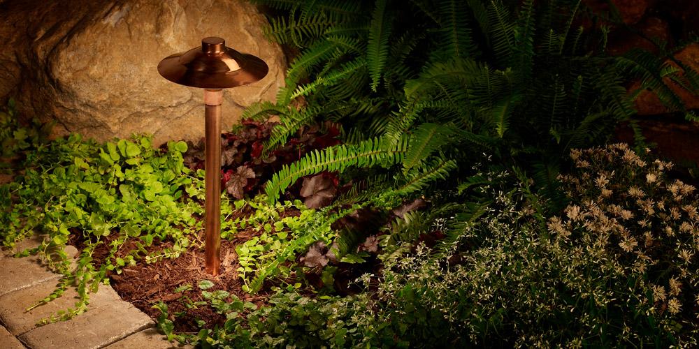 outdoor lighting for garden in Raleigh NC