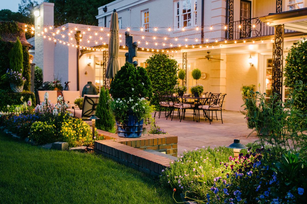 Suwanee overhead patio lighting