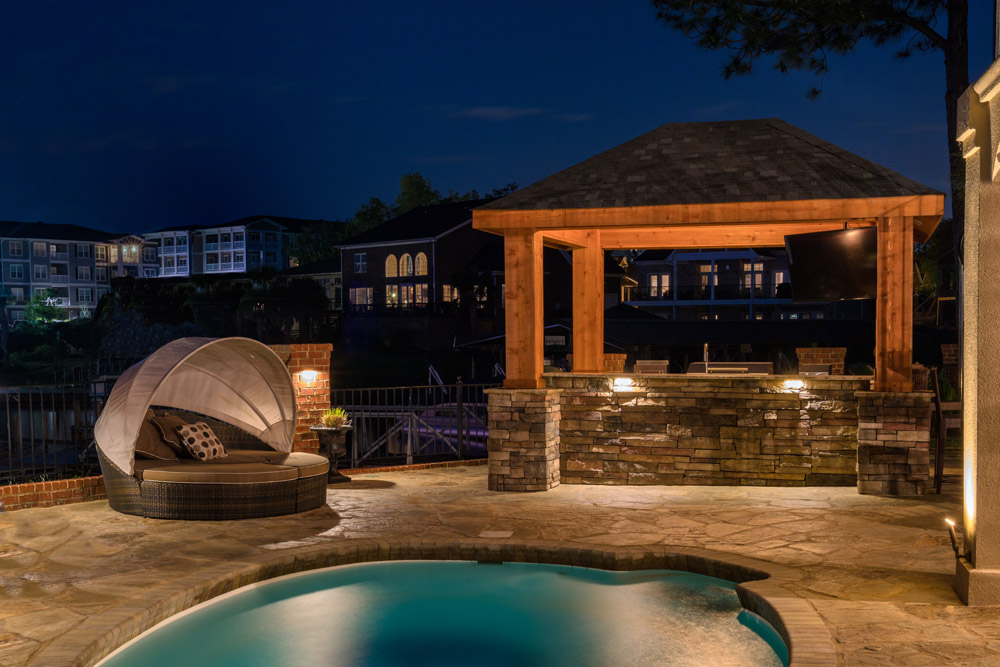 Suwanee Patio Lighting Installation