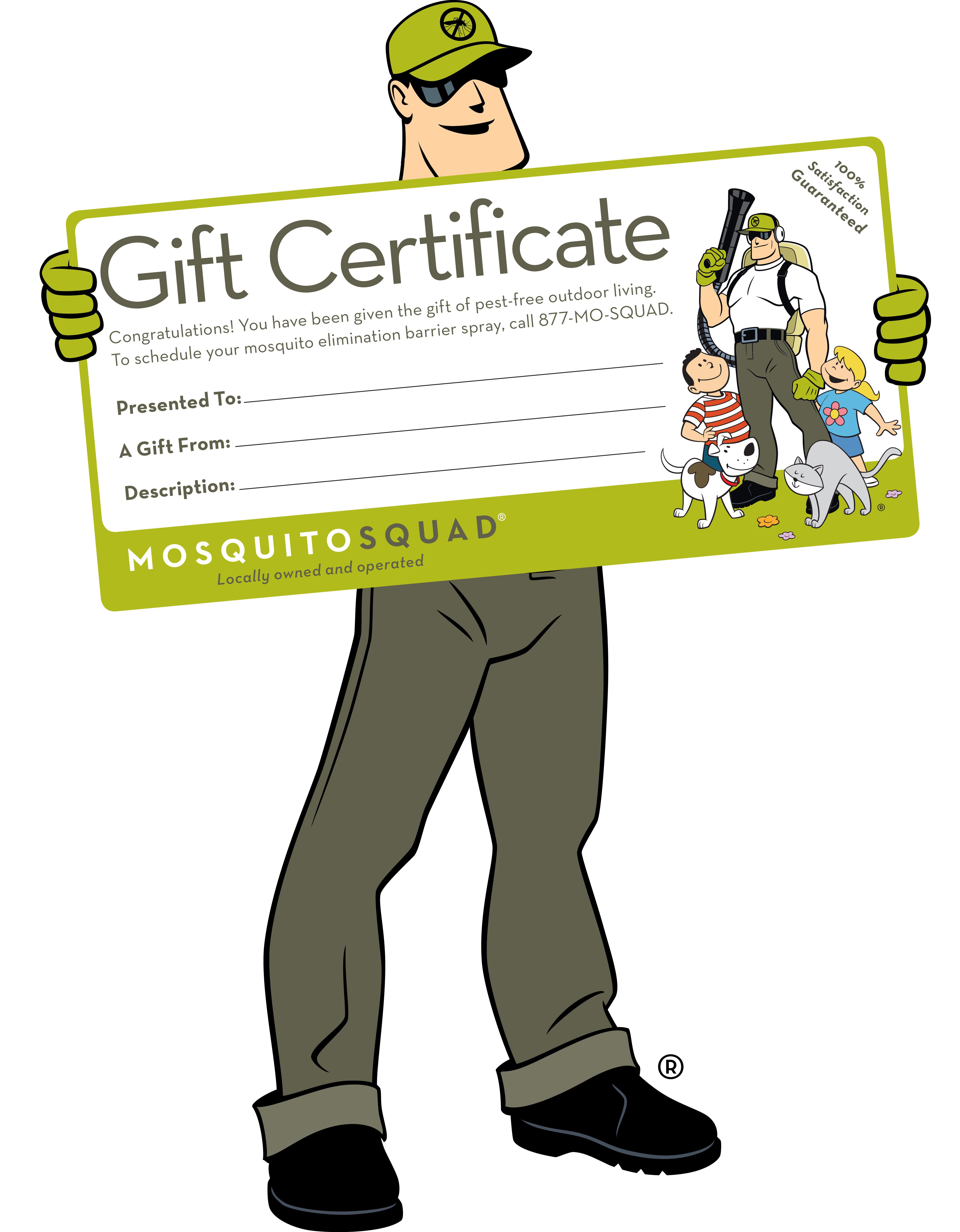 Dread Skeeter Gift Certificate