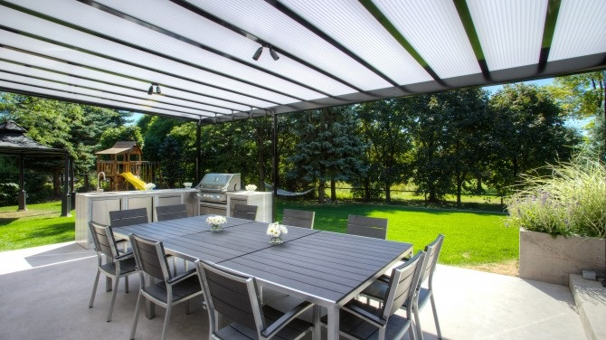 These Patio Covers Can Be Installed In A Variety Of Settings, From Brick,  Siding, And Stucco Walls To Fascia And Rooftop Attachments.