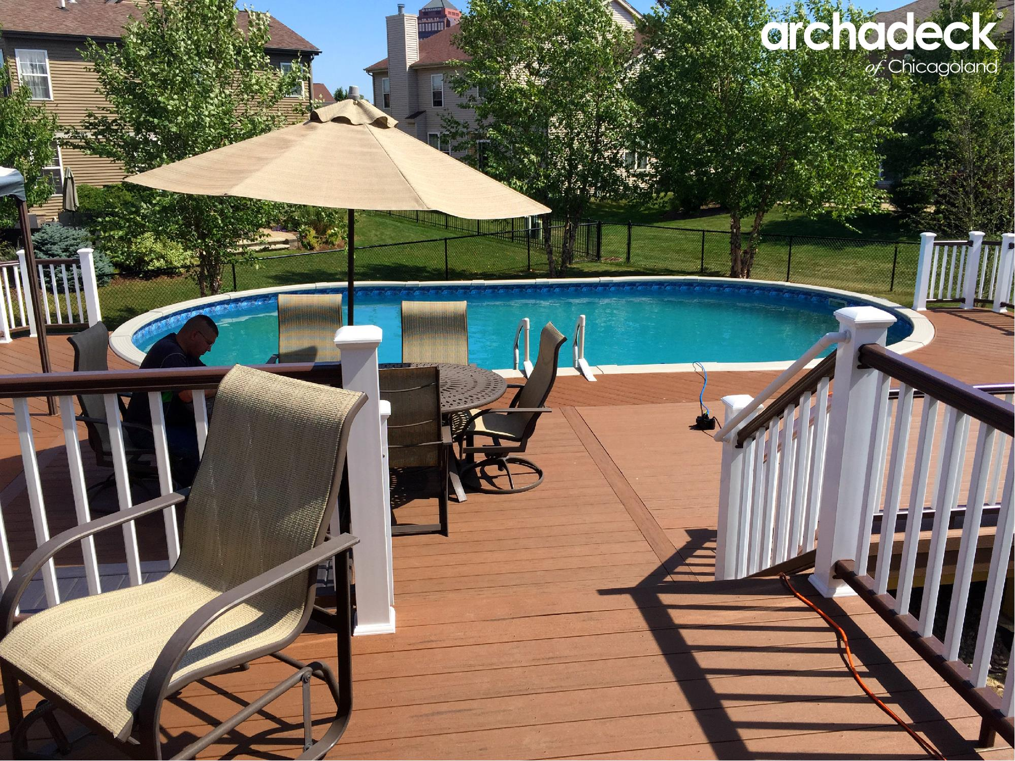 Pool deck ideas for chicagoland homeowners archadeck for Pool design deck