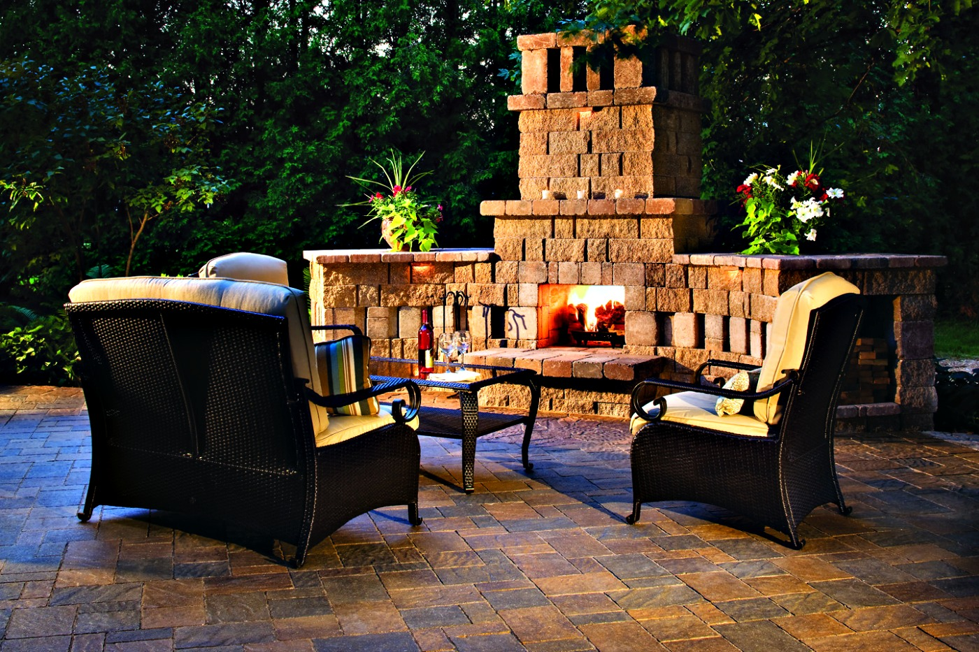 5 theres a size to fit your space you dont need a ton of space to fit a fire pit and in fact you dont even need a backyard