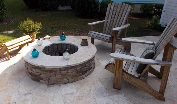 Mooresville fire pit