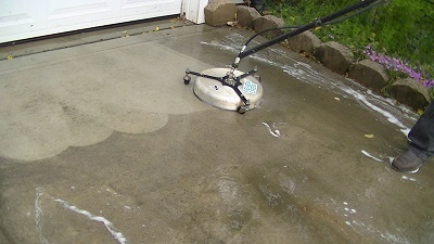 concrete pressure washing Charotte NC