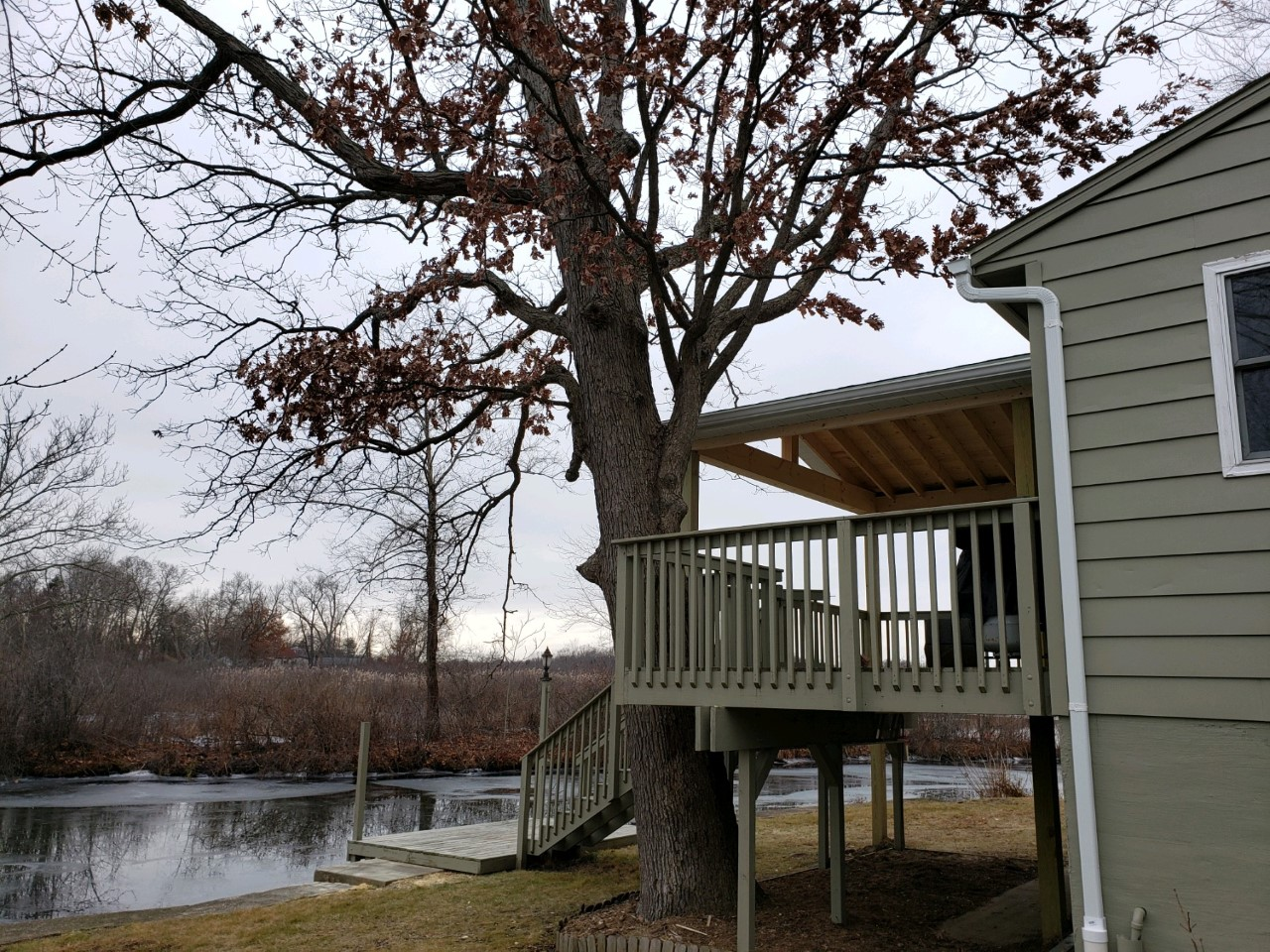 New-roof-over-deck-in-Portage-Lakes
