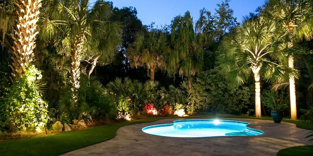 pool area lighting Charleston SC
