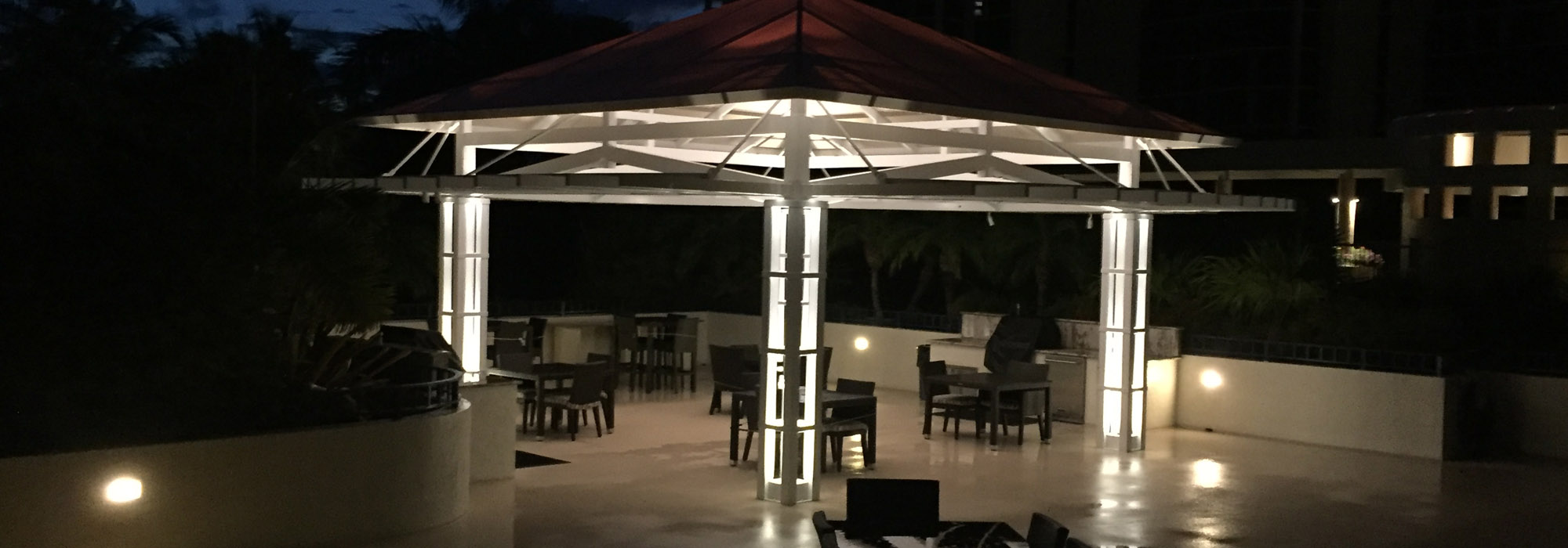 Custome Naples Commercial Outdoor Lighting