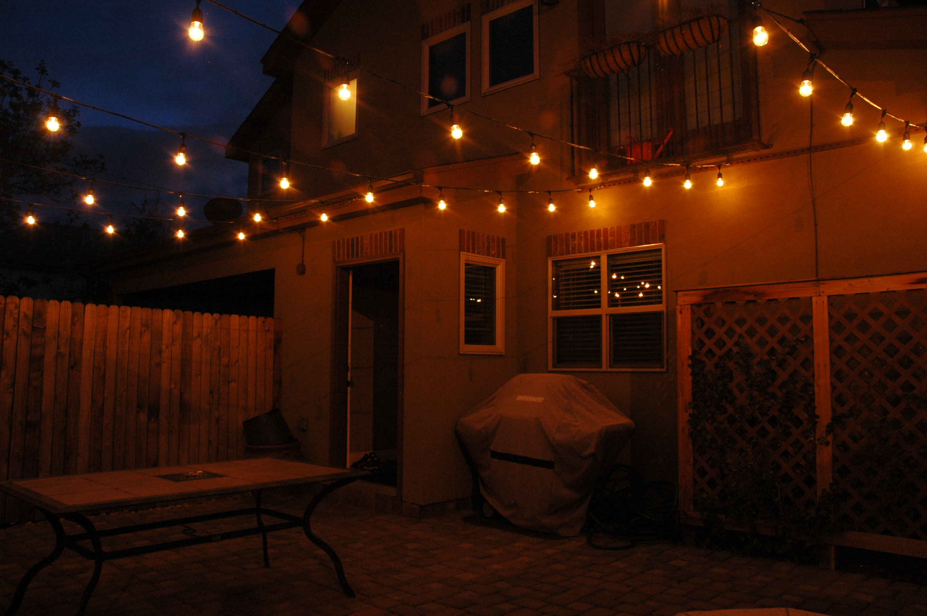 patio outdoor ideas lighting of lanterns lovely inspirational apartment candles string small tropical plants lights