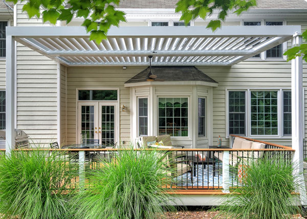 Equinox Louvered Roof System Pergolas Are Perfect For Your Dayton Area  Backyard And Lend Themselves To Any Architectural Style Or Design Need.