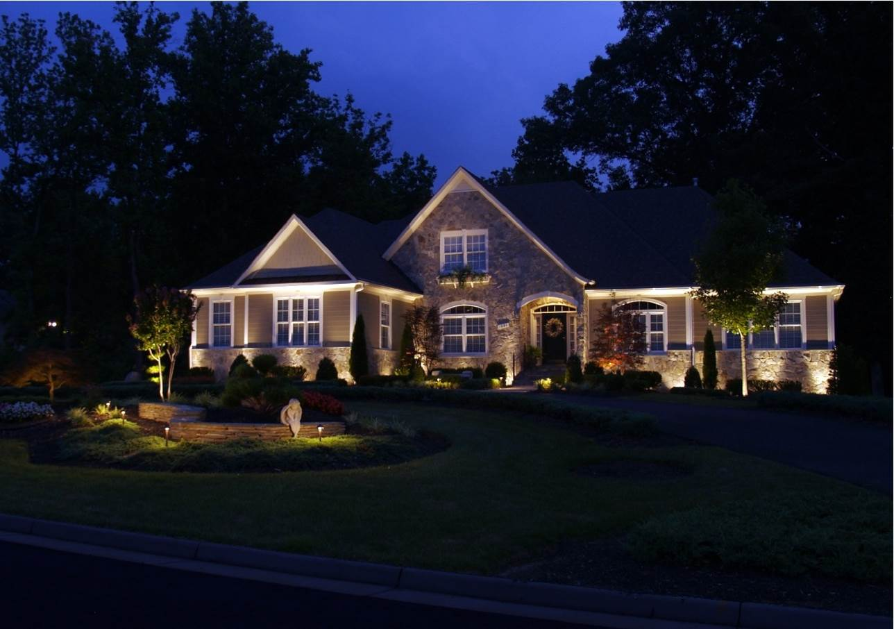 LED landscape lighting upgrade