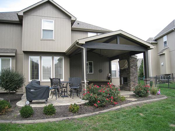 Olathe porch and patio