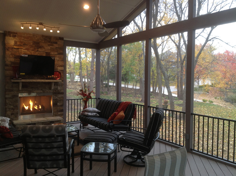 Olathe Ks Porches Sunrooms And Decks