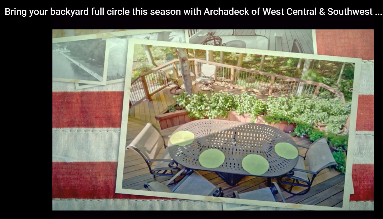 Bring your backyard full circle this season with Archadeck of West Central and Southwest Ohio Thumbnail