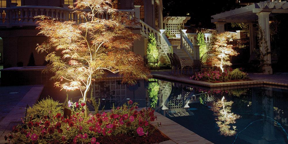 pool area lighting Hollywood SC