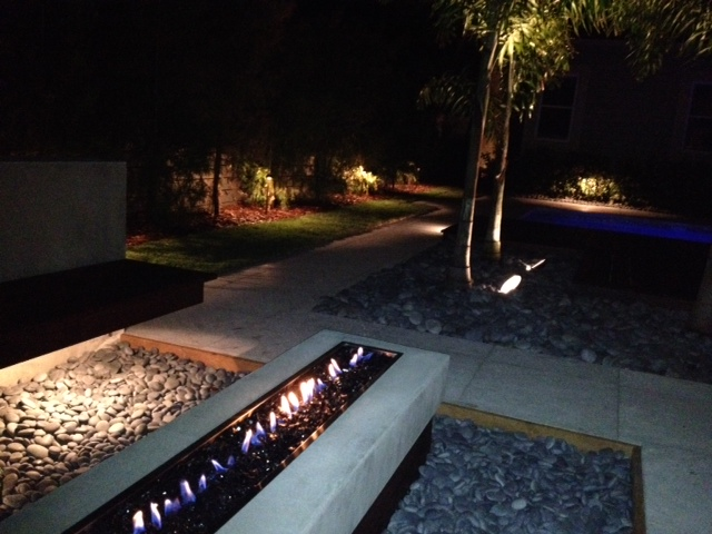 St petersburg tampa bay and clearwater patio and hardscape lighting aloadofball Gallery