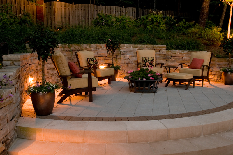 St petersburg tampa bay and clearwater patio and hardscape lighting patio and hardscape lighting aloadofball Gallery