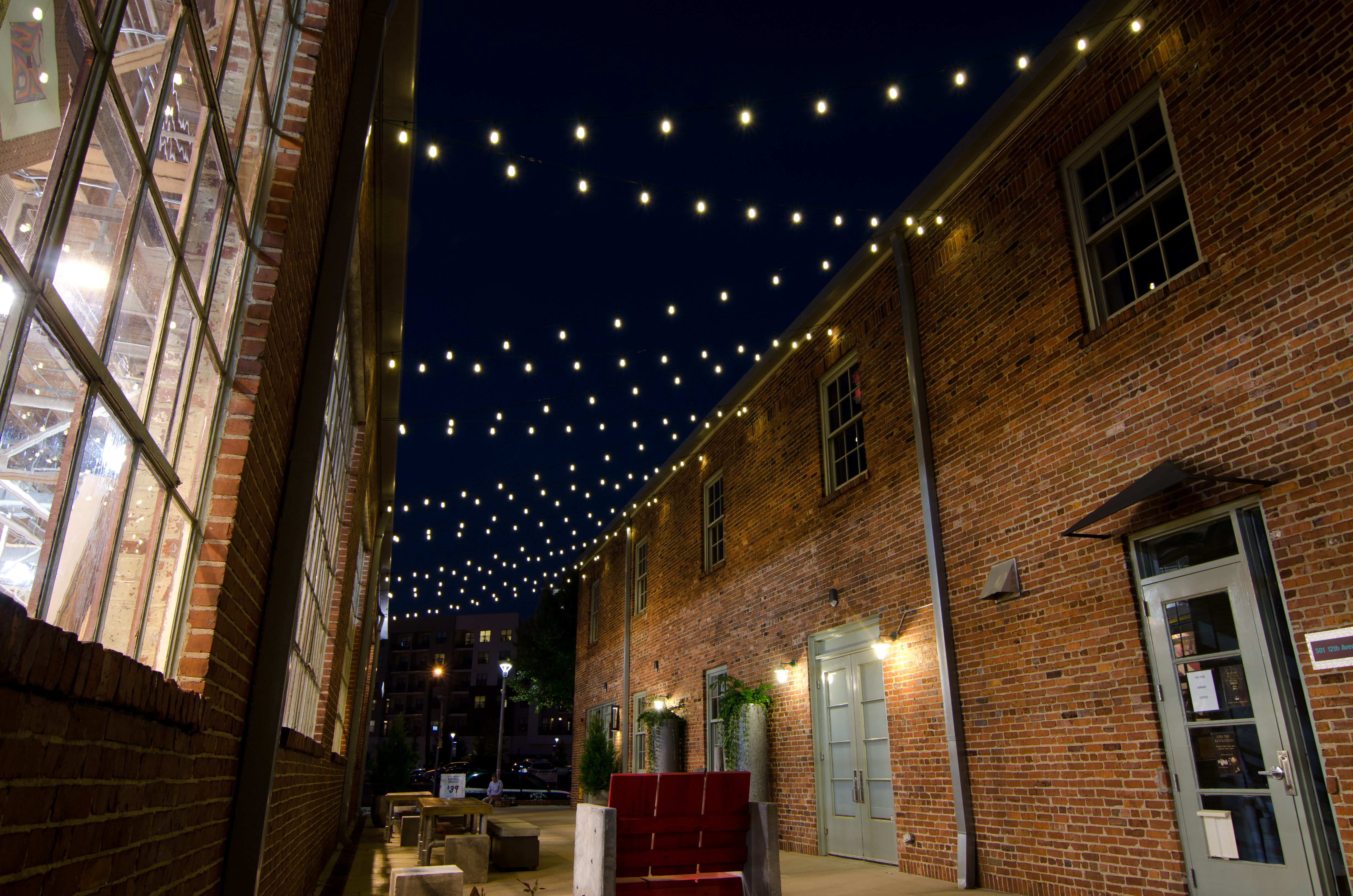 Columbia sc commercial outdoor lighting one of the most popular types of commercial outdoor lighting is festive lighting this is most prominent in restaurants but is catching on in other venues aloadofball Gallery