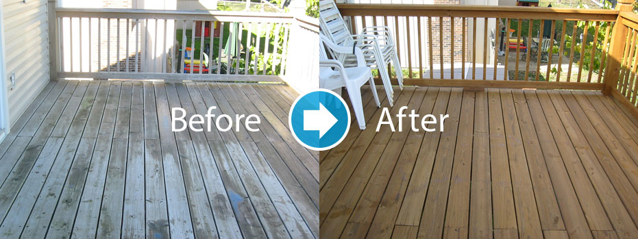 deck cleaning staining in Charlotte NC